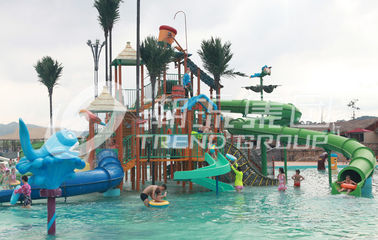 Chine Summer Outdoor Aqua Park Games FiberglassWater Park Attractions for Theme Park fournisseur
