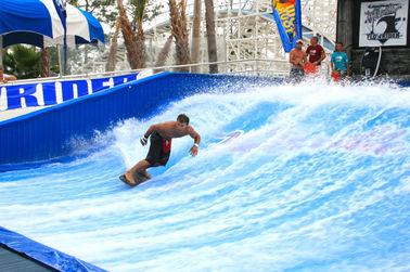 Tour de l'eau de Flowrider d'attraction, panneau simple imperméable de dérapage de vague de cavalier